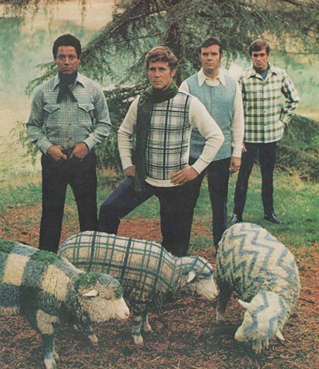 Weird 70's Male Fashion