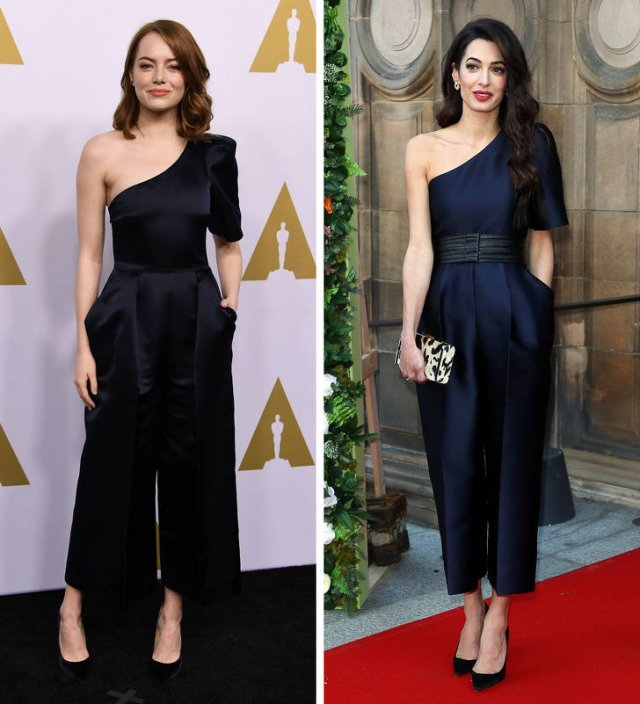 Different Celebrities In Same Clothes