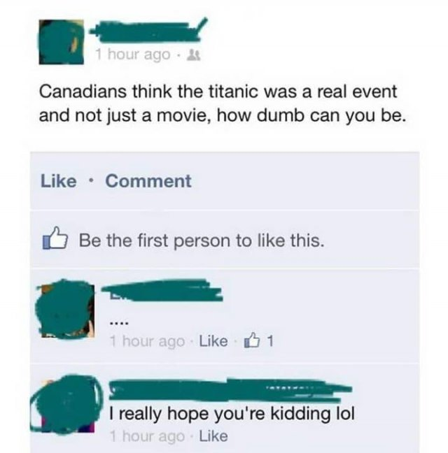 Dumb Comments