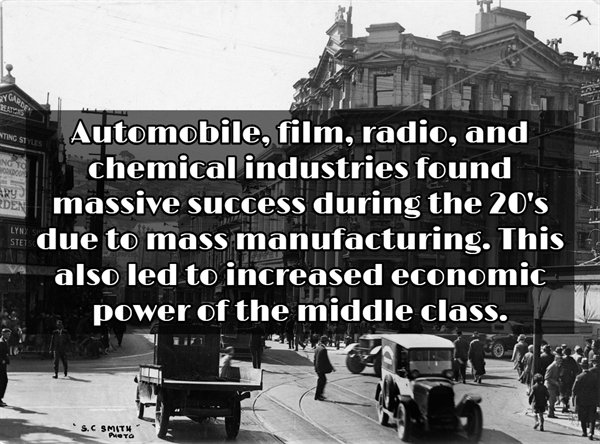 1920's: Interesting Facts