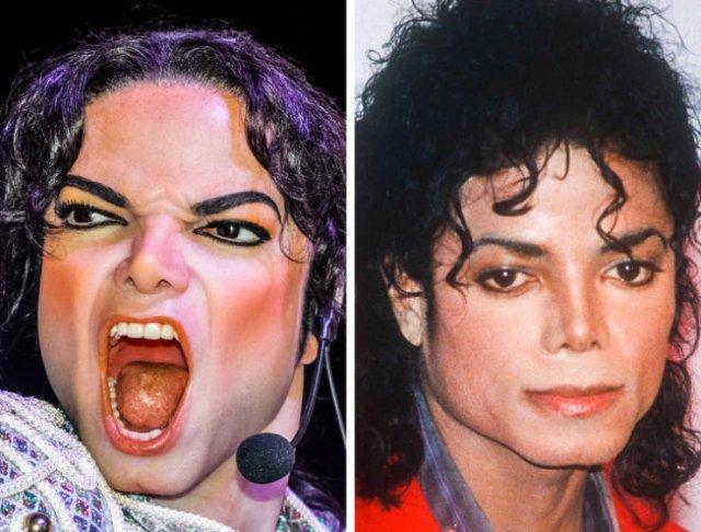 Bad Celebrity Wax Figures