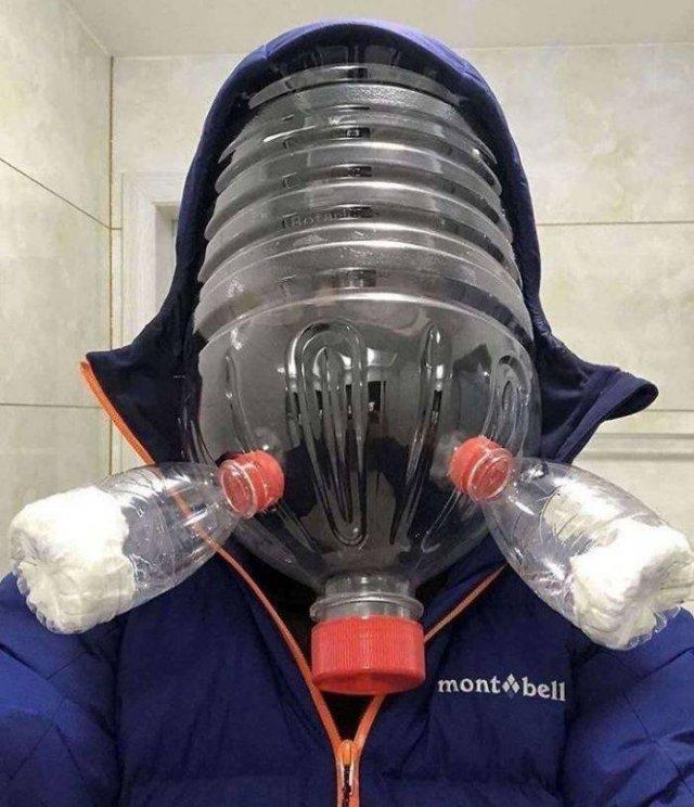 Self-Made Coronavirus Protection