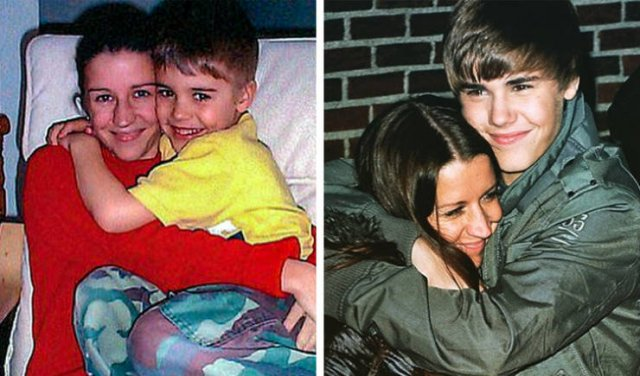 Celebrities With Their Parents