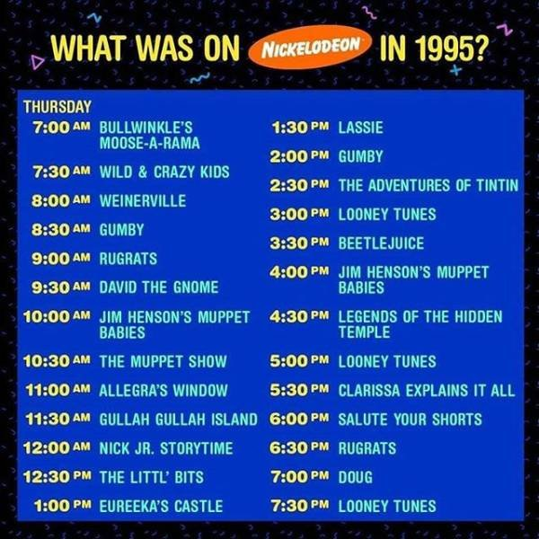 Time For Nostalgia: 80s And 90s