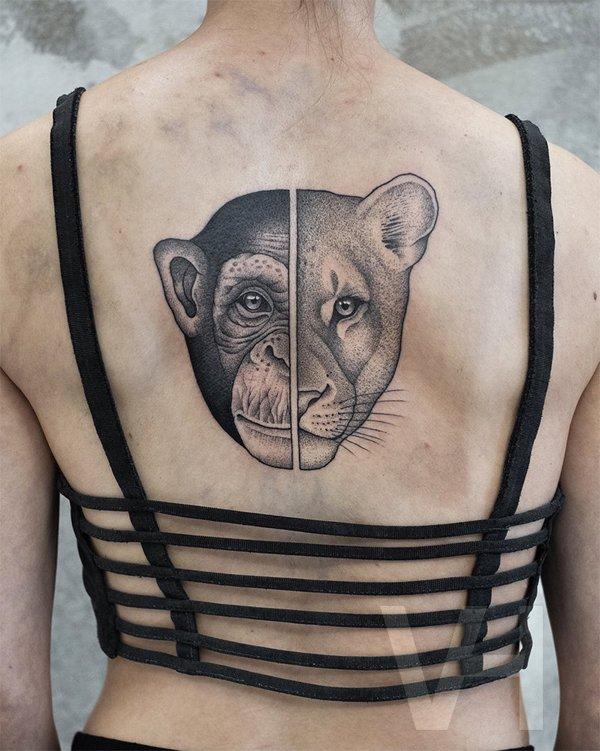 Symmetrical Tattoos