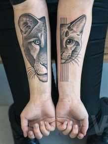 Symmetrical Tattoos