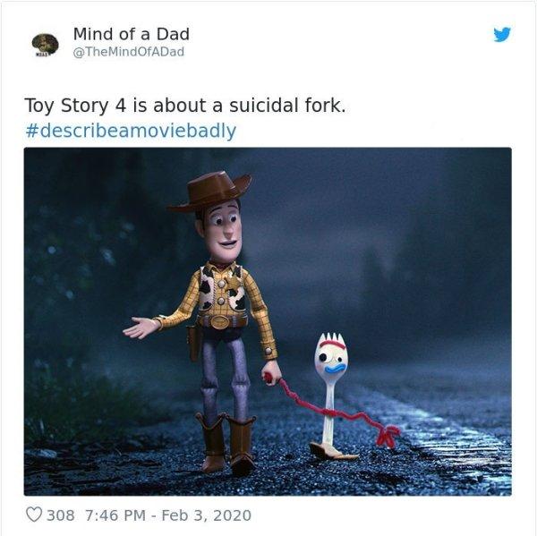 Describe A Movie Badly