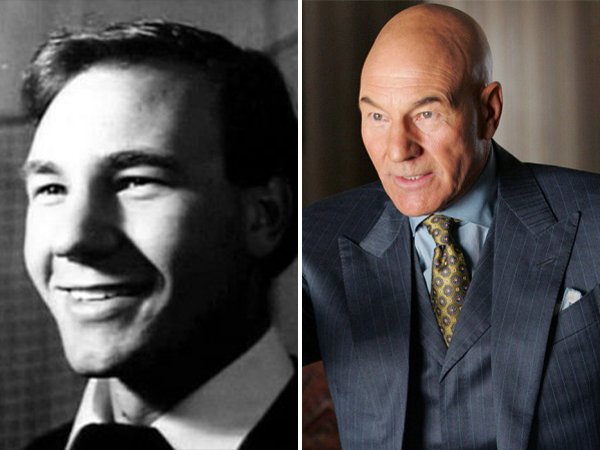 Famous Actors And Actresses: Then And Now