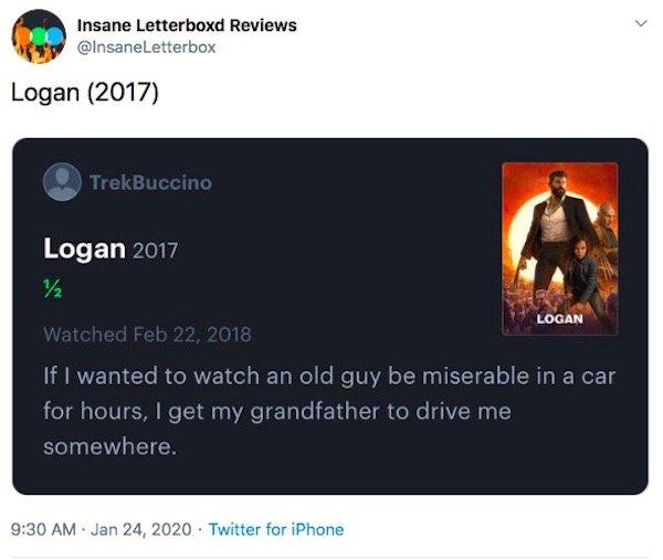 Insane Movie Reviews