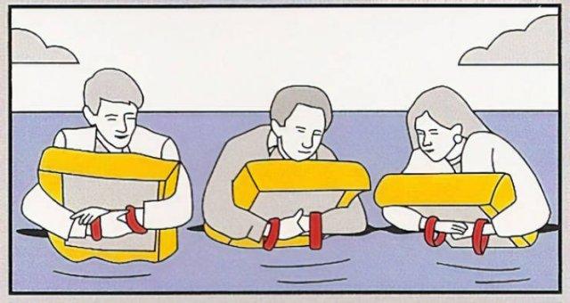 Strange Flight Safety Cards