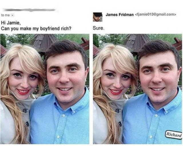 James Fridman Does Hilarious Photoshopping