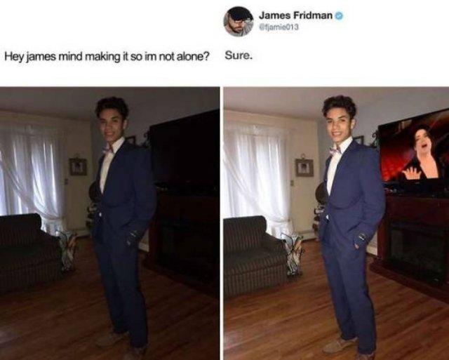 James Fridman Does Hilarious Photoshopping