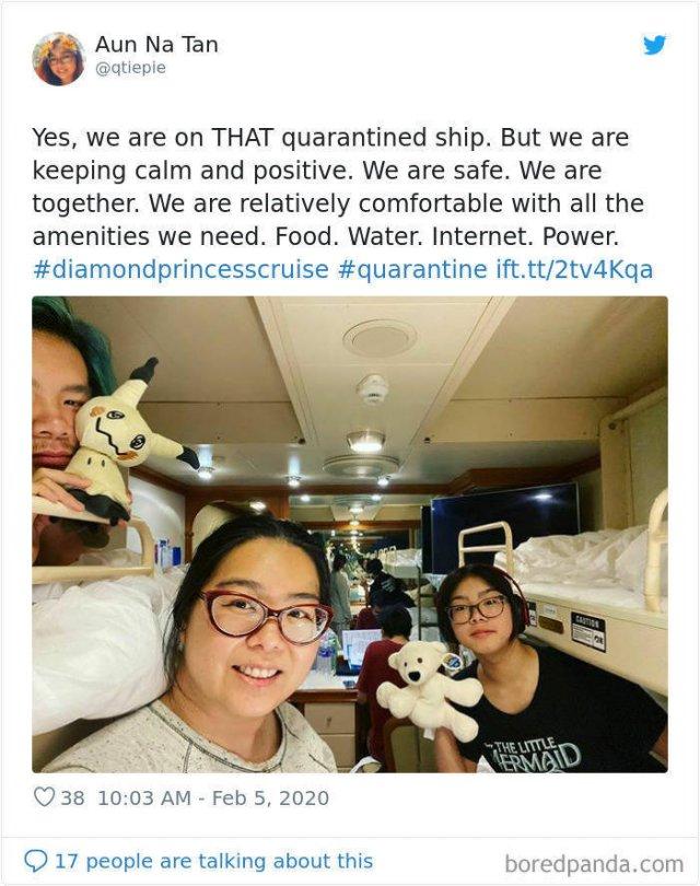 """Prisoners Of Coronavirus Ship """"Diamond Princess"""""""