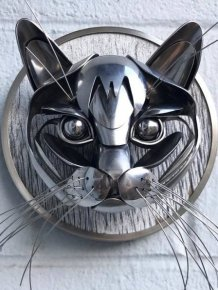 Recycled Silverware Art By Matt Wilson