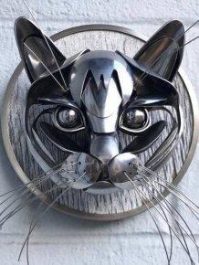 Recycled Silverware Art By Matt Wilson