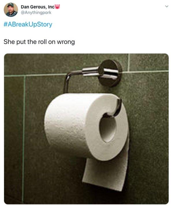 #ABreakUpStory Tweets