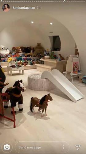 Kim Kardashian Kids Playroom