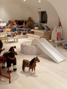 Kim Kardashian Kids Playroom