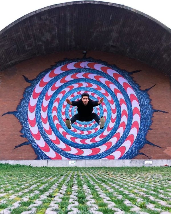 Amazing Optical Illusions By Tiago Silva