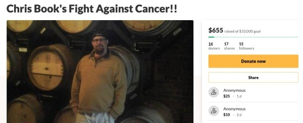 Man Battling Cancer Haven't Expected To Get Such Support