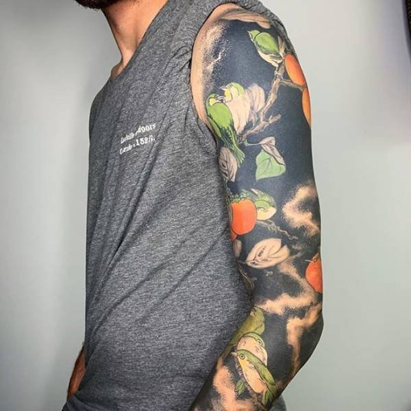 Blackout Tattoos By Esther Garcia