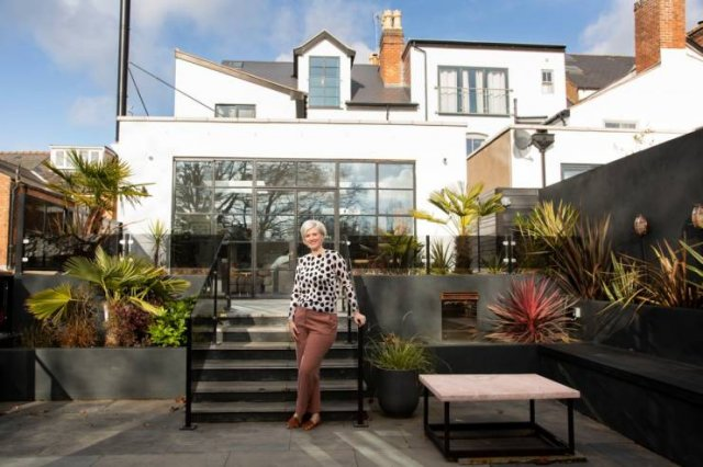 Couple Turned Old House Into Luxury Mansion