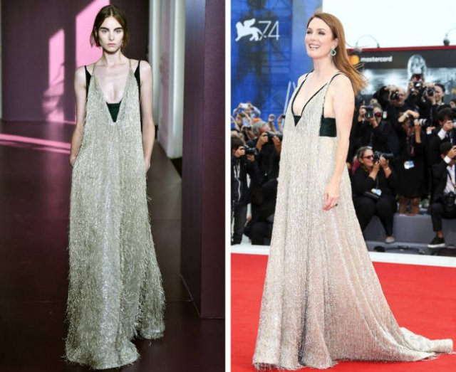 Celebrities Vs. Models: Same Outfits