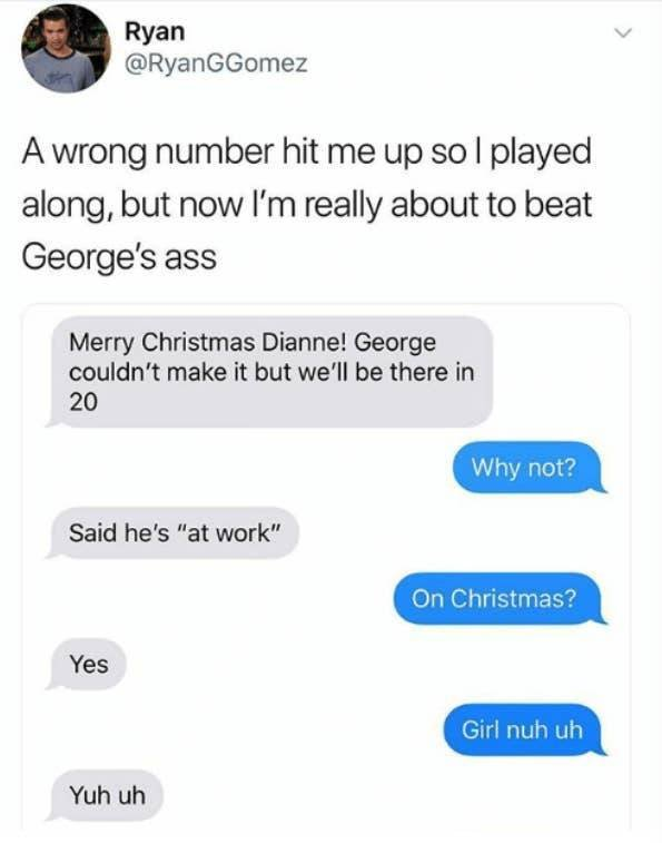 Wrong Number Texts, part 3
