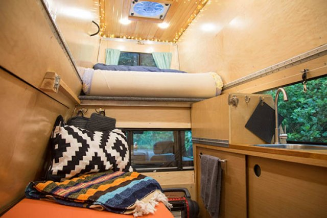 Couple Turned A Car Into Mobile Home For Travelling