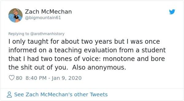 Teachers Share Insane Course Evaluations