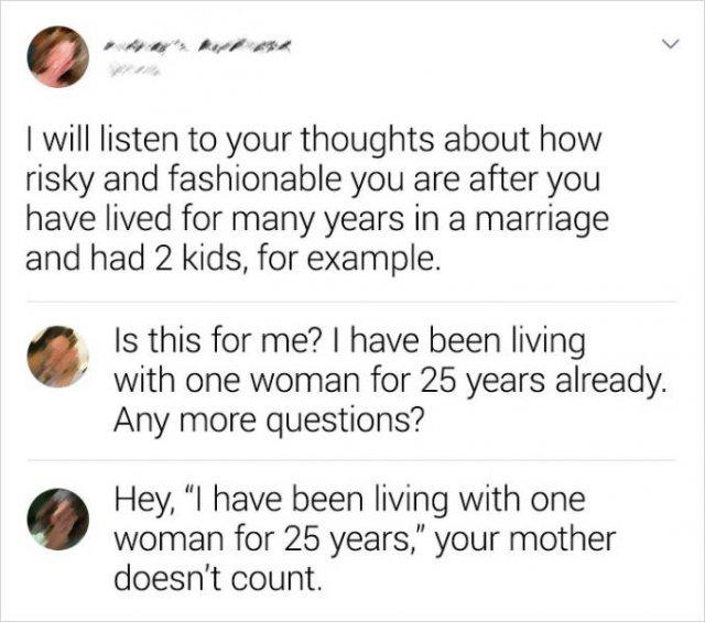 Sarcastic Comments, part 8