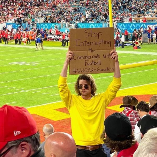 Dude With A Sign