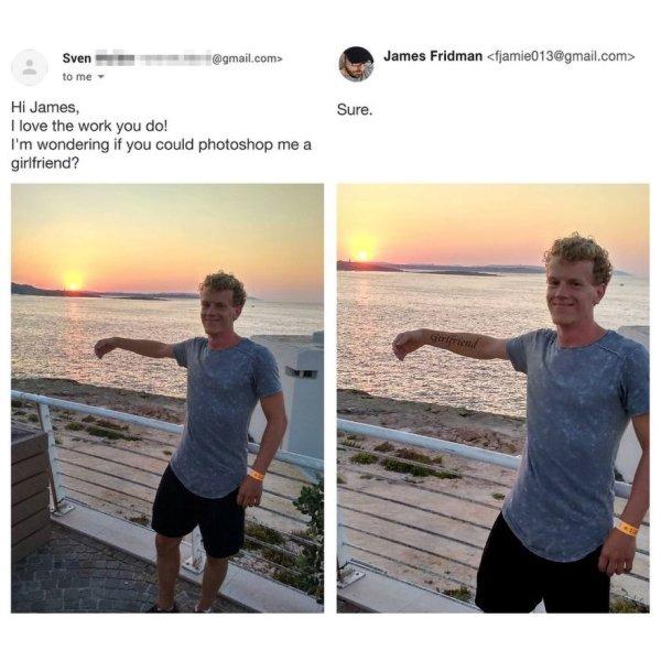 James Fridman Can Fix Any Photo