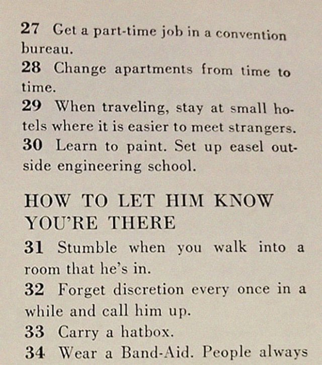 1958 McCall's Magazine: How To Get A Husband