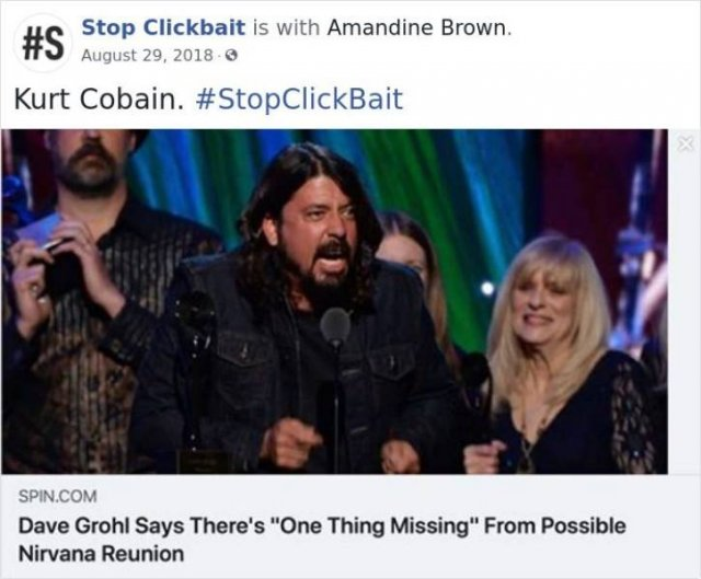 #StopClickBait Tweets