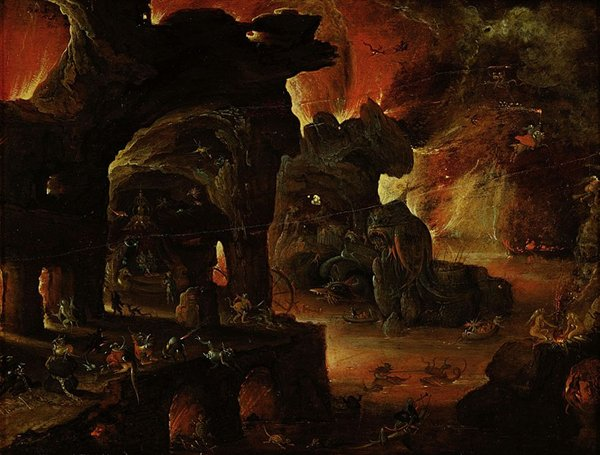 Old Depictions Of Hell