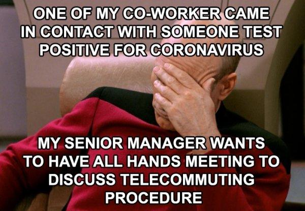 Daily Life In Coronavirus Time