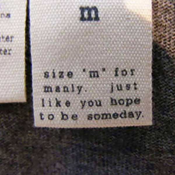 Funny Clothing Labels, part 2
