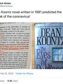 Dean Koontz's 1981 Novel: Possible Coronavirus Prediction
