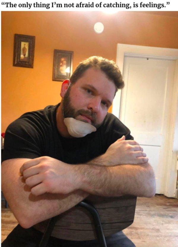 Man Creates Funny Quarantine Dating Profile