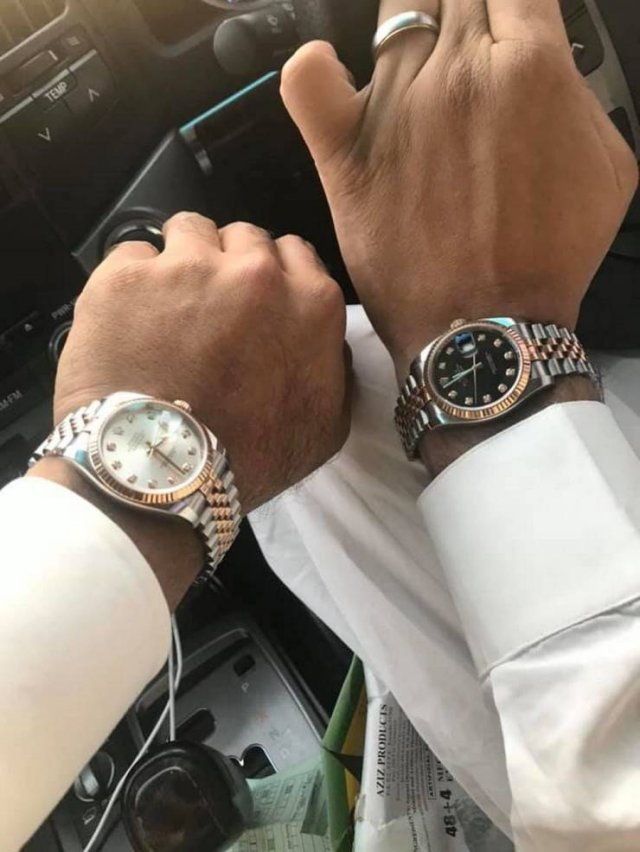 When You Can't Stop Posting Photos Of Your Expensive Watches