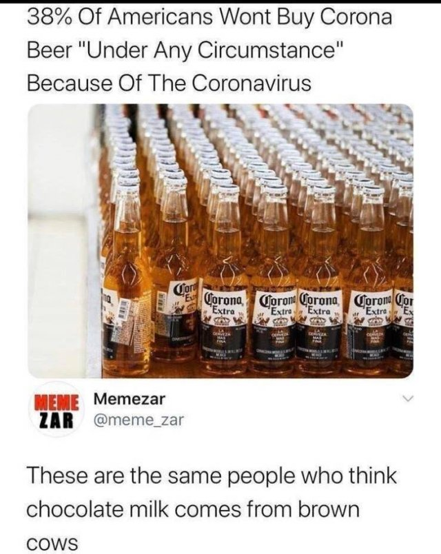 People Who Don't Know Much About Coronavirus