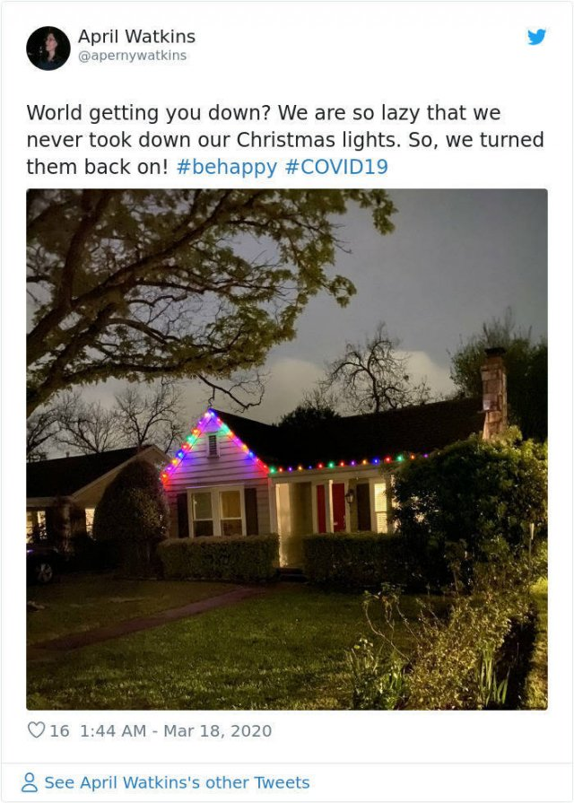 People Start To Decorate Their Homes With Christmas Lights