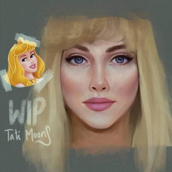 Modern Cartoon Girls By Tati MoonS
