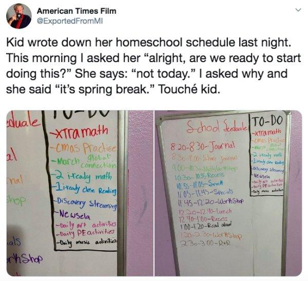 Kids Homeschooling May Be Hard