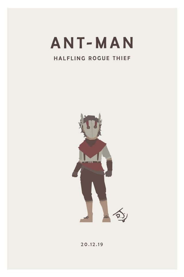 Marvel Heroes As D&D Characters