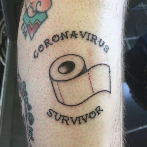 Coronavirus Tattoos