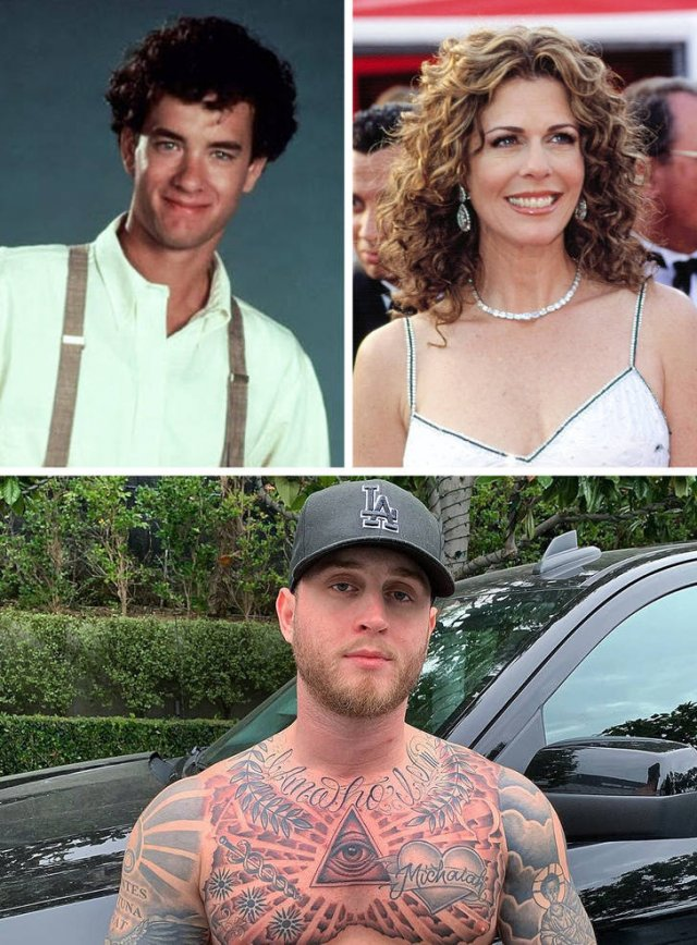 Celebrity Children And Their Parents