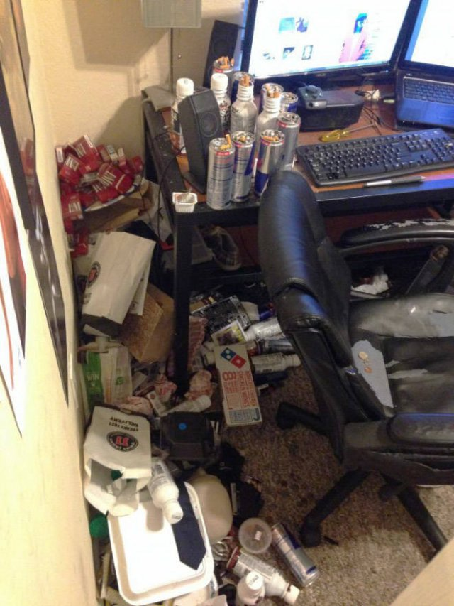 Some People Have To Prepare Their Home Offices For Work