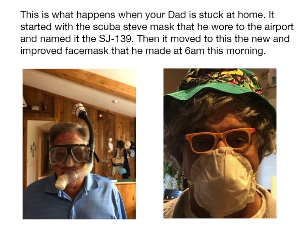 Dads Vs Coronavirus